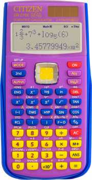 Fotografía: Proponga a vender Calculadoras CITIZEN - CALC. SCIENTIFIQUE CITIZEN SR-270X LOL BL COLLECTO