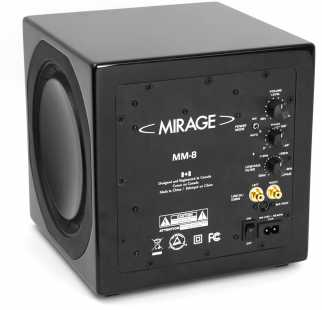 Fotografía: Proponga a vender Recinto MIRAGE - MIRAGE MM8 SUBWOOFER - AKTION !!!