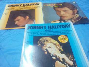 Fotografía: Proponga a vender 53 Discos de 45 revoluciones POP, rock, folk - COLLECTION JOHNNY HALLYDAY - JOHNNY HALLYDAY