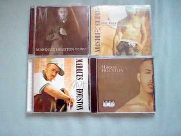 Fotografía: Proponga a vender CD Hip-hop, rap, rnb - 4 CD´S VON MARQUES HOUSTON IN THE SET - MARQUES HOUSTON