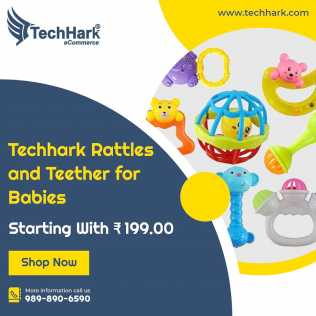 Fotografía: Proponga a vender Otra maqueta TECHHARK - RATTLES AND TEETHER FOR BABIES